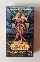 Very Rare Black Gauntlet VHS Tape, Bingo Video, Blaxploitation, B-Movie Tested