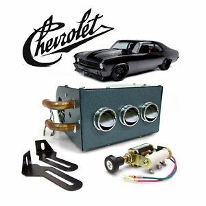 68-79 Chevy Nova Under Dash Auxiliary Cab Heater Core Box T-10 LSX THM350 X-Body