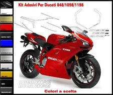 Kit adesivi per ducati 848 evo decals stickers Look 1199 Panigale R