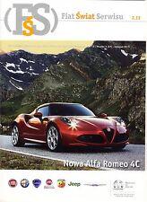 Abarth Fiat Alfa Romeo Jeep Lancia 02 / 2013 magazine no catalogue brochure