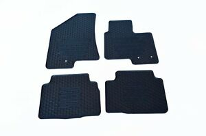 Rugged Rubber Floor Mats Tailored for For Hyundai ix35 10-15 Heavy Duty