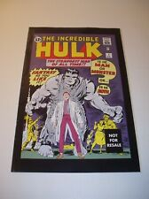 The Incredible Hulk Comic #1 Marvel/Toy Biz Reprint 2004