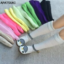 "5pairs/lot Doll Stockings for 11.5"" Dolls Middle Tube Sock For Blythe 1:6 Doll"