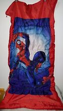Youth Size Multi Color Spider Man Sleeping Bag