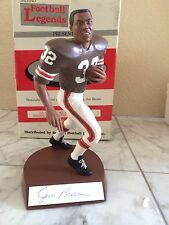 Jim Brown Cleveland Browns Salvino Hand Signed Autograph figurine 300 limited