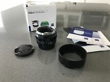 ZEISS Planar T 50mm f/1.4 ZE Lens Canon Mount