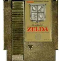 The Legend of Zelda - Gold - Nintendo NES