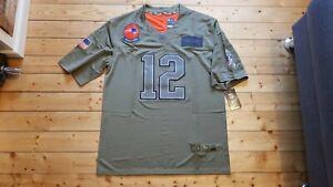 Neu Tom Brady Trikot Gr. L New England Patriots NFL Jersey Salute to Service