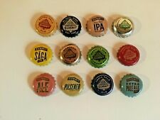 Lot of (12) Different Summit Beer Bottle Caps