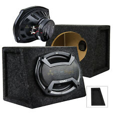 "2 Orion CO693 6"" x 9"" 3-Way Coaxial Full Range Car Speakers w Box Enclosures Set"