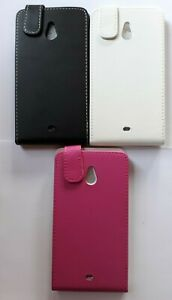 Vertical style PU leather flip phone case, cover to fit Nokia 1320