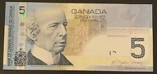 2006 - Canadian 5$ Five Dollar Banknote Bank Of Canada - High Grade