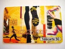 PHONECARD TELECARTE SPORT JOGGING