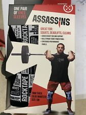 Rocktape Assassin Knee Sleeves Small Blowout New