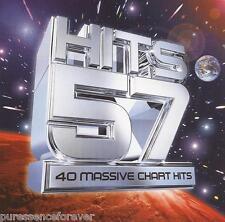 V/A - Hits 57: 40 Massive Chart Hits (UK 40 Tk Double CD Album)