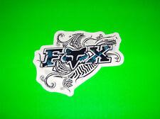 FOX RACING MOTOCROSS ATV QUAD BMX SNOWBOARD SKATEBOARD BLUE TAHITITAT STICKER