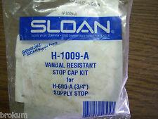 "SLOAN ROYAL FLUSHOMETER STOP CAP H-1009-A 3/4"" NEW FREE SHIPPING"