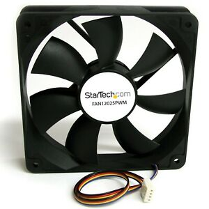 *NEW* 120x25mm Computer Case Fan with PWM - Pulse Width Modulation Connector Pc
