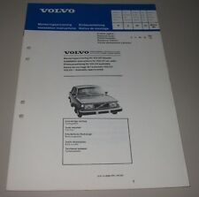 Einbauanleitung Volvo 240 Autoradio Radio Installation Instructions März 1980!
