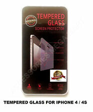 Explosion proof Temper Glass Anti scratch screen Protector APPLE iPhone 4 / 4S