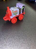 THOMAS & FRIENDS Minis Train Engine 2016 SPONGEBOB Skarloey Mr. Krabs EUC