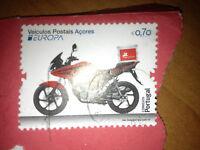 Briefmarke - Portugal 2013 - 70 Cent - gestempelt - ungelöst - Veiculos Postais