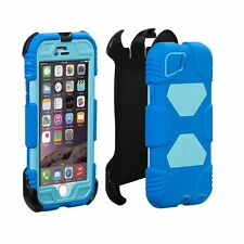 NEW Apple iPhone 6 Case, Aceguarder Extreme Duty Protection (Blue/Light Blue)