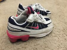 size 40 f665a 8f4c2 Nike Shox Turbo VII for Kids. Black   White   Pink. Size 6.5C