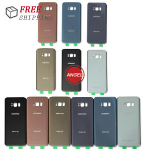 New For Samsung S8 S8+ Plus S9 S9 Plus Battery Back Door Glass Cover Replacement