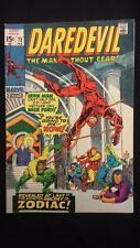 Daredevil #73 Spy Master, Nick Fury & Zodiac Appearance Netflix 1st Series 1971
