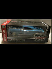 1970 Dodge Charger R/T SE Medium Blue Metallic 1:18 Auto World 980