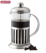 Apollo Coffee Plunger 800Ml Stainless Steel Tea Kitchen Accessory Home New