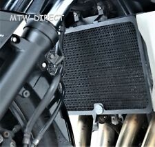R&G RACING BLACK RADIATOR GUARD COVER SUZUKI GSF1250S BANDIT 2007 ON -
