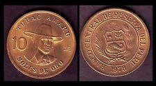 ★★ PEROU / PERU ● 10 SOLES 1978 ● (ref26) ★★