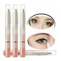 White Multipurpose Pearl Eye Shadow Eyeliner Pencil Pen Make Up Beauty Cosmetic