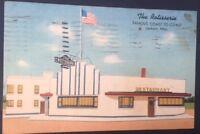 VTG Postcard The Rotisserie Restaurant Jackson Mississippi Postmark 1942  C1