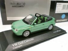 MINICHAMPS 1/43 - VW GOLF CABRIO 1999 - 430 058335