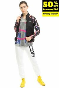 ONLY PLAY Track Jacket Size XS Breathable Quickdry Patterned Trim Full Zip