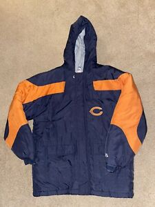 Boys Large 14 16 NFL Chicago Bears Winter Coat