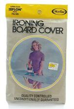 Nos Vintage Skyline Teflon Treated Du Pont Scorch Resistant Ironing Board Cover