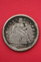 1842 O Seated Liberty Dime Exact Coin Pictured Flat Rate Shipping OCE055