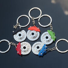 Alloy Zinc Car Parts Creative Keyfob KeyRing Keyfinder Disc Brake Keychain