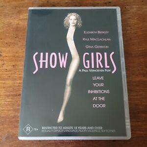 Showgirls DVD Elizabeth Berkley R4 Like New! FREE POST