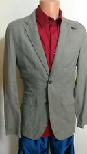 Armani Exchange 100% Cotton Men's Sport Coat Blazer Gray S @C