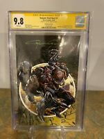 Venom: First Host #1 CGC SS 9.8 Virgin Cover Signed by Clayton Crain