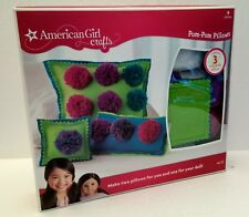 American Girl Crafts Pom Pom Pillows Craft Set - New in Box