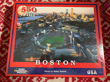 2009 White Mountain Puzzles Boston - Fenway Park - 550 Piece Jigsaw Mike Smith