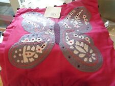 Pottery Barn Kids Woodland Butterfly  Pillow cover 16 New