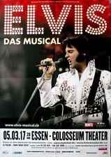 PRESLEY, ELVIS - 2017 - Plakat - Musical - Tourposter - Essen