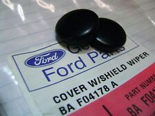 GENUINE FORD BA BF FALCON + SX SY SZ TERRITORY PAIR WIPER ARM NUT COVERS CAPS
